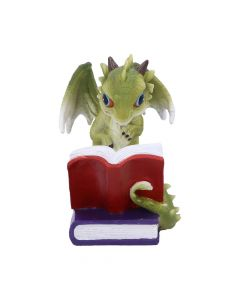 Dragon Stories Green Dragon Reading Figurine Dragons
