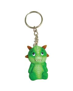 Adorable Dragon Keyring - Green 5.5cm (Pack of 12) Dragons Dragons Value Range