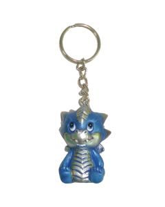 Adorable Dragon Keyring - Blue 5.5cm (Pack of 12) Dragons Dragons Value Range