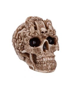 Gothic Design Carved Skull Figurine Ornament New Product Launch