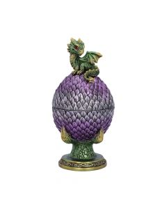 Egg Guardian Emerald Dragon Scale Egg Box New in Stock