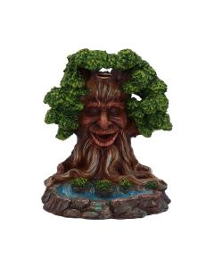 Elder Ember Tree Spirit Green Man Backflow Incense Burner Popular Products - Light