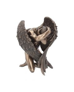 Bronzed Angels Retreat Religious Figurine 16cm Angels