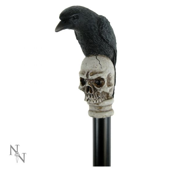 Way of the Raven Swaggering Cane 94cm Ravens Raben
