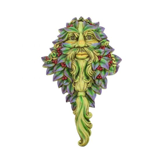 Winters Watch Wall Hanging Wall Mounted Tree Spirit Green Man Tree Spirits