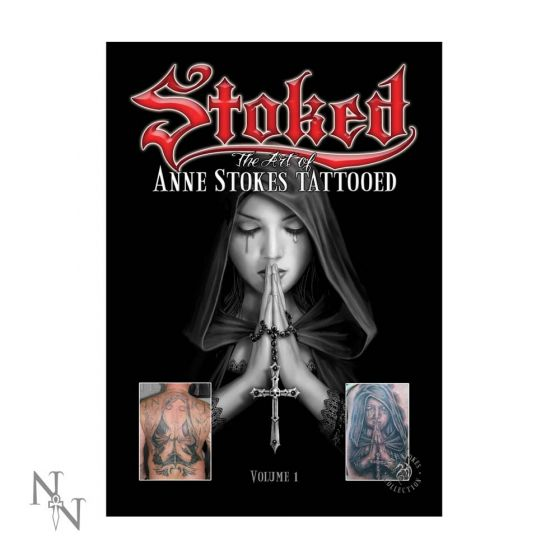 Anne Stokes Tattoo Book Volume 1 A4 Gothic Anne Stokes Artist Collections