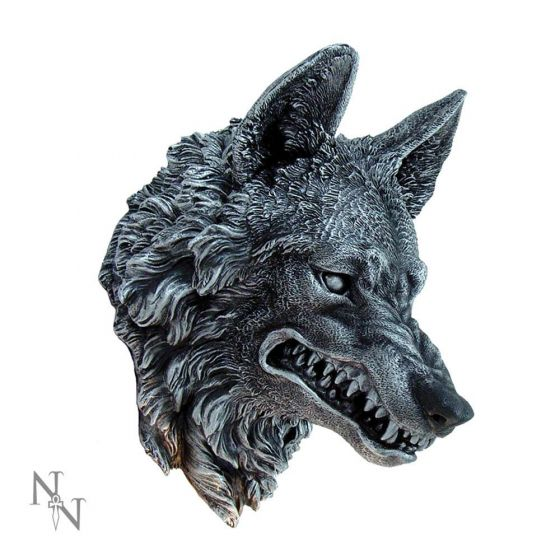 Wolf Wall Plaque 30cm Wolves Wölfe