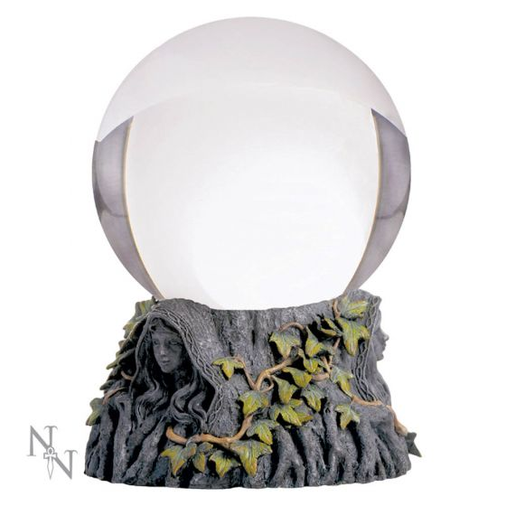 Crystal Ball Stand Maiden Mother Crone & Ball Witchcraft & Wiccan NN Designs Premium Range