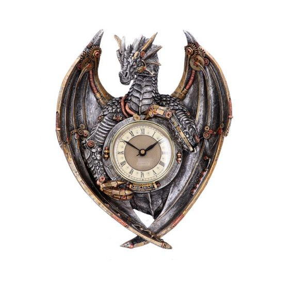 Dracus Horologium 27.5cm Dragons Steampunk Dragons Value Range