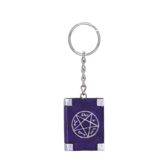 Book of Spells Keyring 4.5cm (Pack of 12) Witchcraft & Wiccan Neu auf Lager