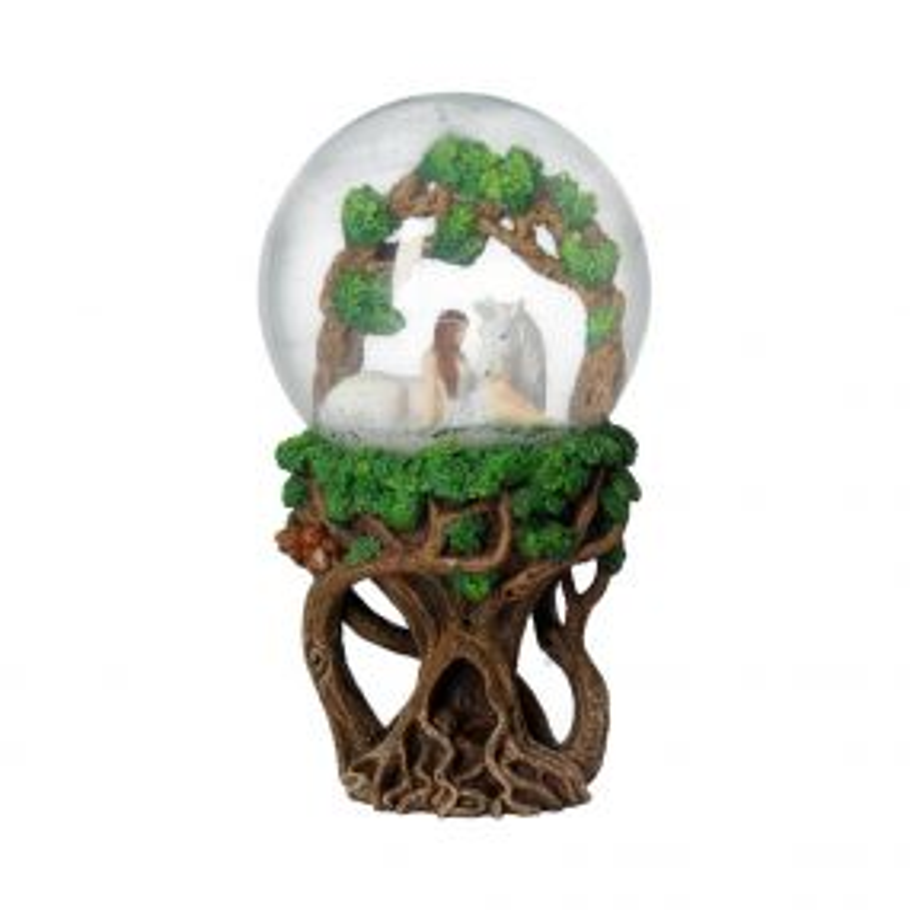 Pure Heart Snow Globe (AS) 18cm