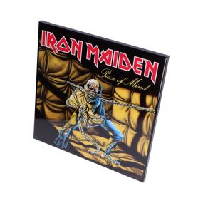 Iron Maiden-Piece of Mind Crystal Clear 32cm