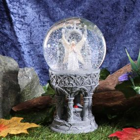 Only Love Remains Snow Globe (AS) 18.5cm
