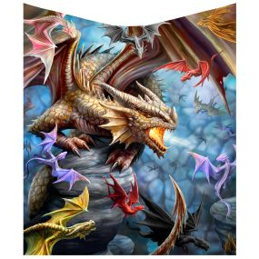 Dragon Clan Throw (AS) 160cm