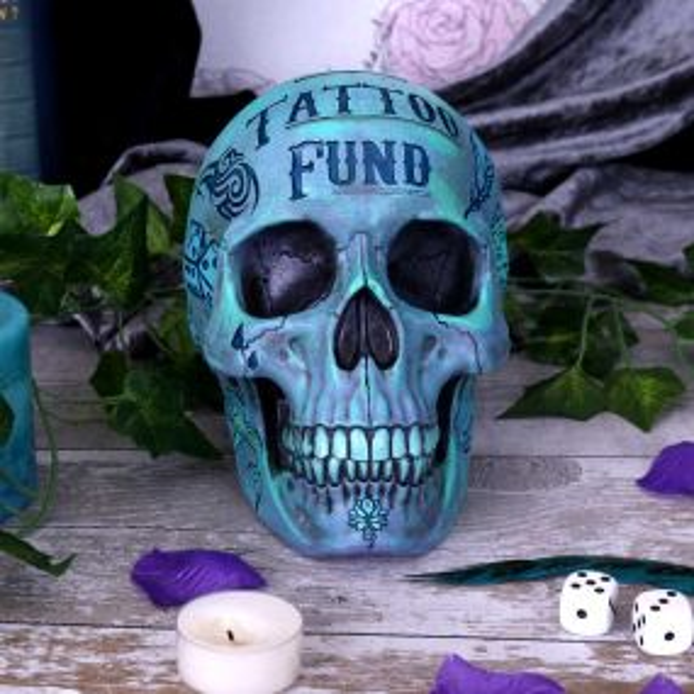 Tattoo Fund (Blue)