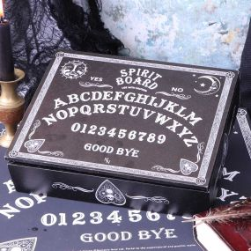 Jewellery Box Black and White Spirit Board 25cm