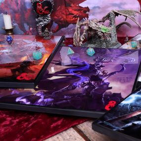 D&D Dungeon Masters Guide Crystal Clear 32cm