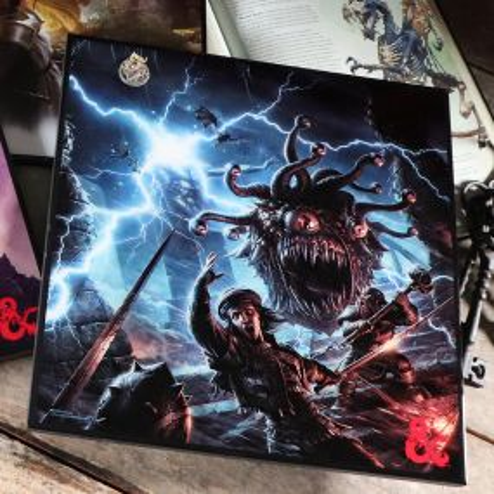 D&D Monster Manual Crystal Clear 32cm