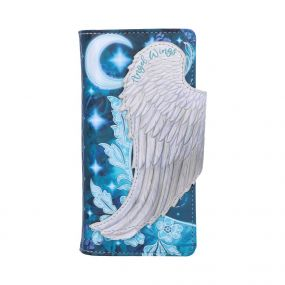 Angel Wings Embossed Purse 18.5cm