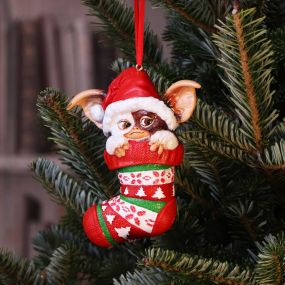 Gremlins Gizmo in Stocking Hanging Ornament 12cm