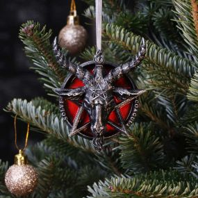 Baphomet Hanging Ornament 9.5cm