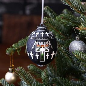 Metallica -Master of Puppets Hanging Ornament 10cm