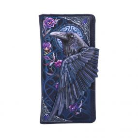 Ravens Flight Embossed Purse 18.5cm