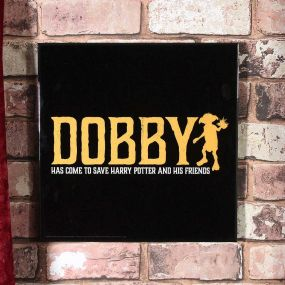 Harry Potter - Dobby Crystal Clear Picture 32cm