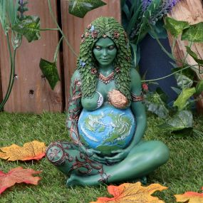 Mother Earth Art Figurine (Painted,Small) 17.5cm