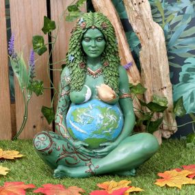 Mother Earth Art Statue (Painted,Large) 30cm