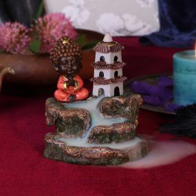 Zen Temple Backflow Incense Burner 13cm