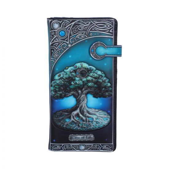 Tree of Life Pagan Moon Embossed Purse Popular Products - Light