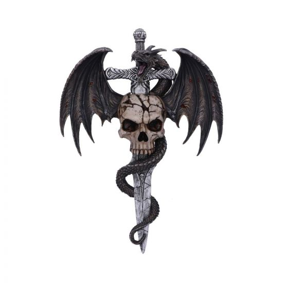 Draco Skull Wall Plaque 36.5cm Dragons New Products Artist Collections