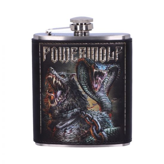 Powerwolf Hip Flask Band Licenses New in Stock Artist Collections