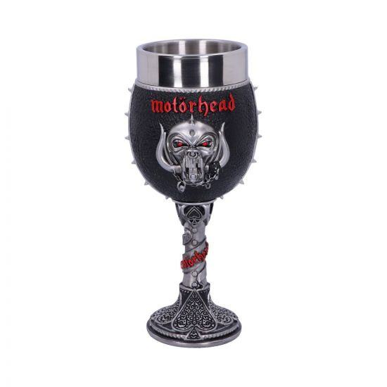 Motorhead Goblet 19.5cm Band Licenses New Products Artist Collections