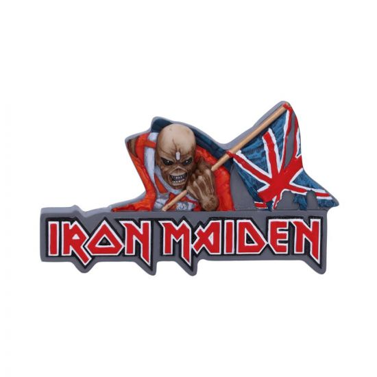 Iron Maiden The Trooper Magnet 10cm Band Licenses New Products Artist Collections