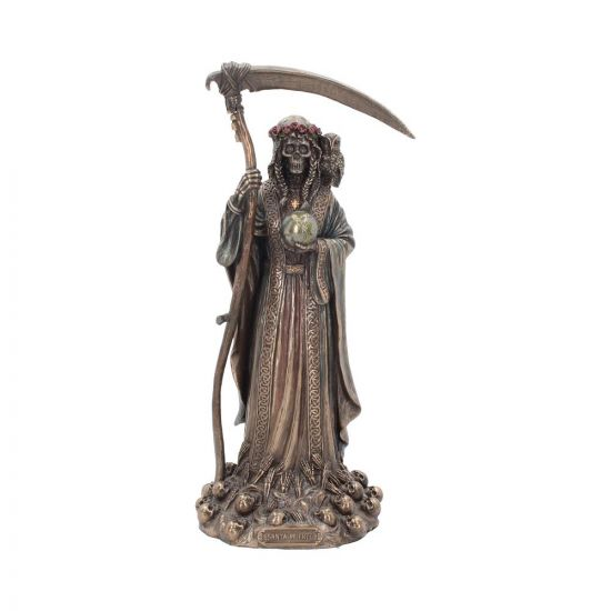 Santa Muerte Reaper Finished in Bronze 29cm Reapers (Premium)