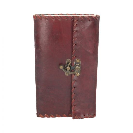 Leather Journal with Lock 14cm x 23cm Witchcraft & Wiccan Wiccan Premium Range