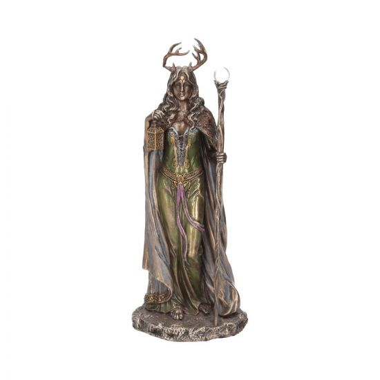 Keeper of The Forest 28cm Witchcraft & Wiccan Maiden, Mother, Crone Premium Range