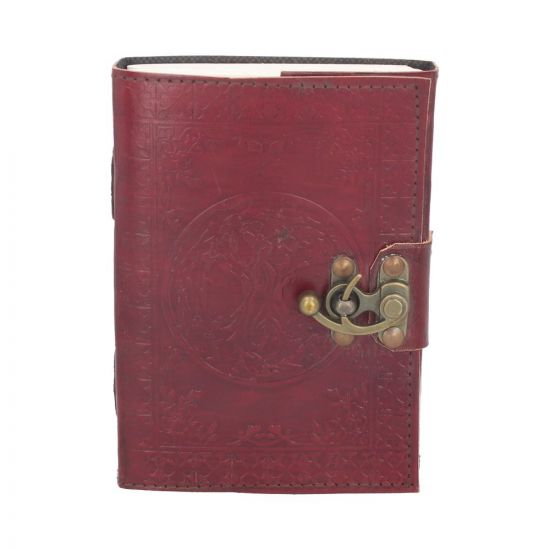 Tree Of Life Leather Journal (small) 13 x 18cm Witchcraft & Wiccan Wicca