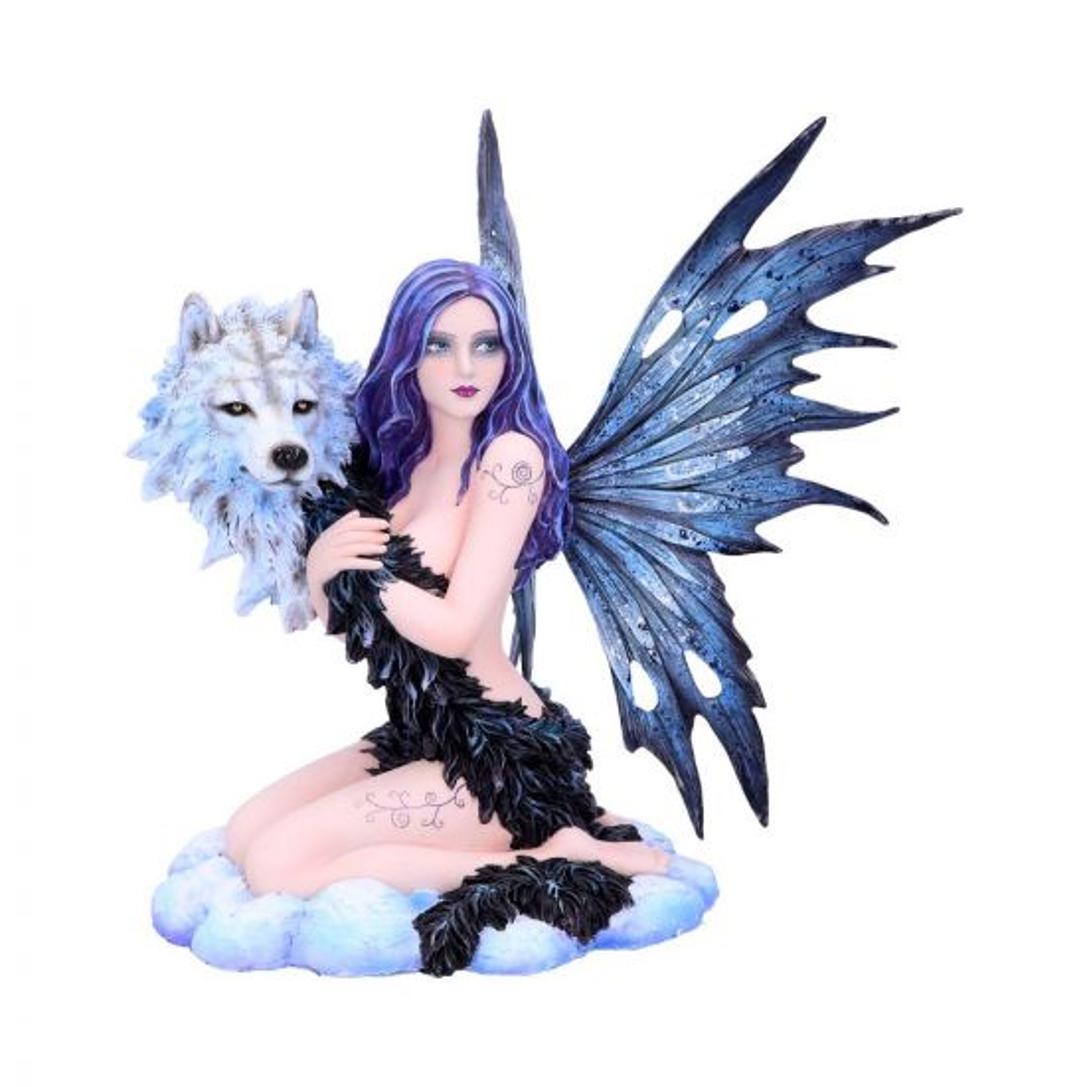 Spirit Wolf 33.5cm Fairies Fairy Figurines Large (30-50cm) Premium Range