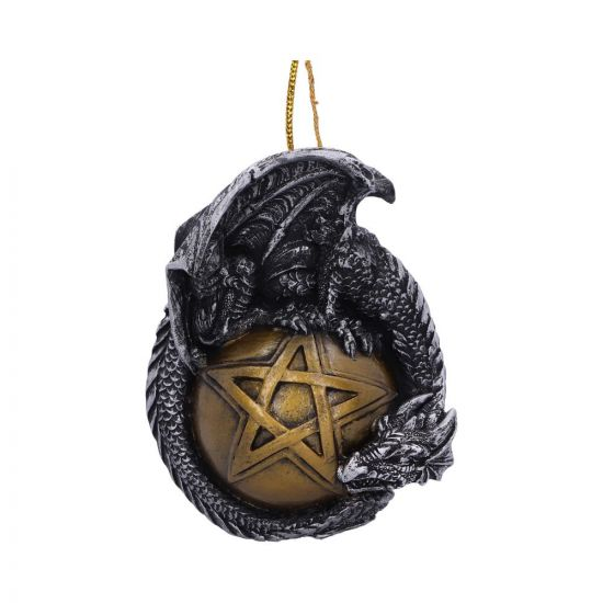 Caspar Festive Hanging Dragon Ornament New in Stock