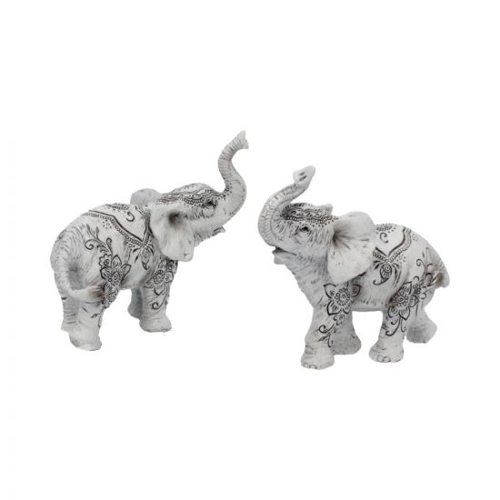 Henna Harmony (Set of 2) 9.5cm Elephants Elephants Nicht spezifiziert