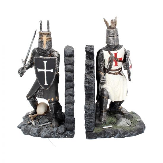 The Duel Bookends 19cm Medieval Medieval Premium Range