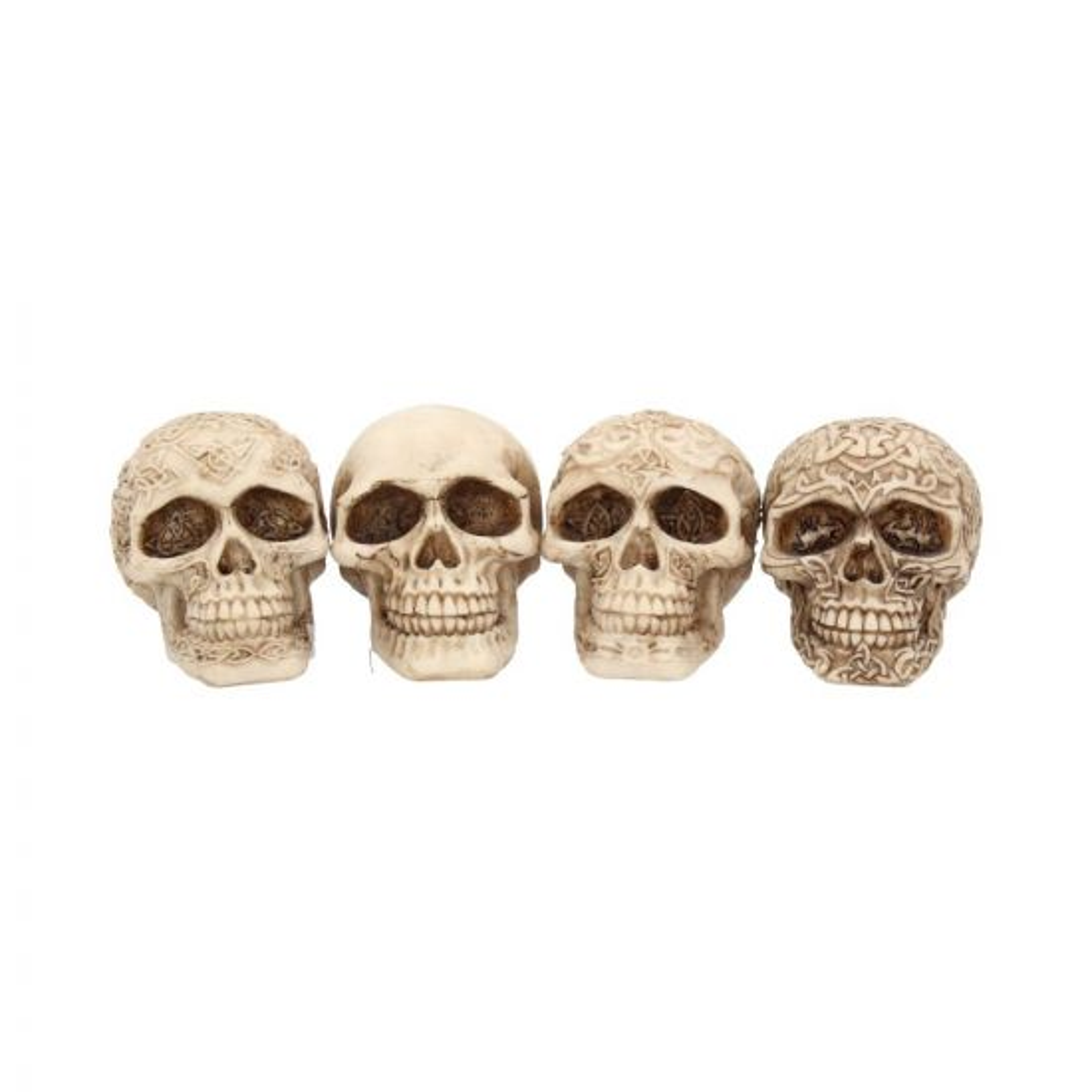 Smile (Set 4) 9.5cm Skulls Skulls Value Range
