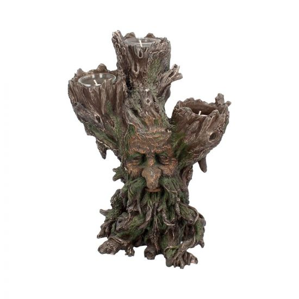 Green Man Tri Tealight Holder 27cm Tree Spirits Tree Spirits Premium Range