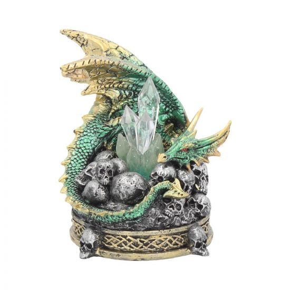 Crystal Crypt Green 11.5cm Dragons Dragons Value Range