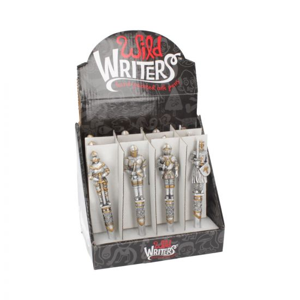 Wild Writers Medieval Knight Pen16cm (Set of 12) Medieval Verkaufte Artikel Value Range