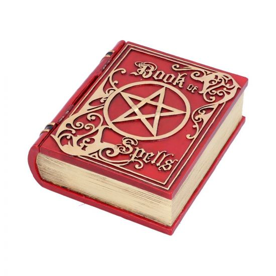 Book of Spells Red 15.5cm Witchcraft & Wiccan Witchcraft & Wiccan Value Range