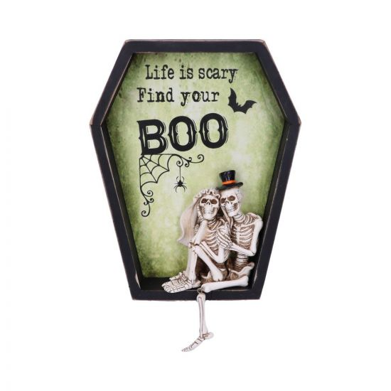 Life is Scary Find Your Boo 31.3cm Skeletons Skeletons Value Range